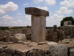 Taula, in ruins of Talayotic civilization.