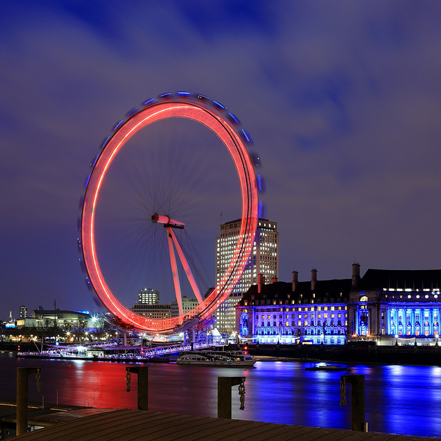 London Eye at Night_________EXPLORER