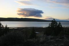 Sunset on Lake Abert
