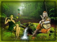 Forêt magique************
