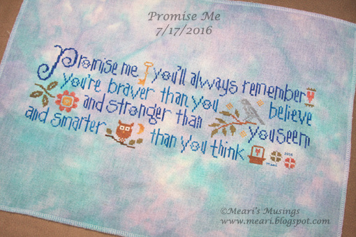 Promise Me 7/17/2016