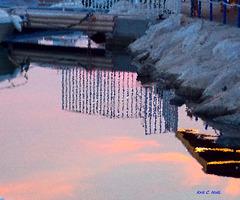 Cristal reflection !