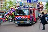 Leidens Ontzet 2017 – Parade – 2004 Mercedes-Benz 976.06 Fire Engine