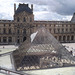 Pyramid and Courtyard of the Louvre, June 2014