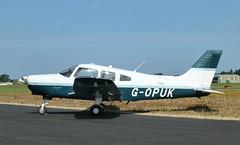G-OPUK at Solent Airport - 6 June 2018