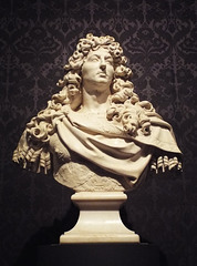 Bust of King Louis XIV by Coysevox in the Metropolitan Museum of Art, May 2018