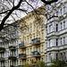Berlin-Kreuzberg: Eine prächtige Häuserfront aus der Gründerzeit - A splendid front of houses from the Wilhelminian period