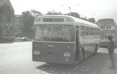 Ribble 813 (ARN 813C) at Rochdale - 12 Sep 1976