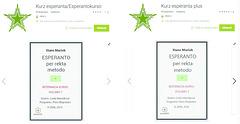 Kurso de Esperanto por telefonoj, ambaŭ volumoj
