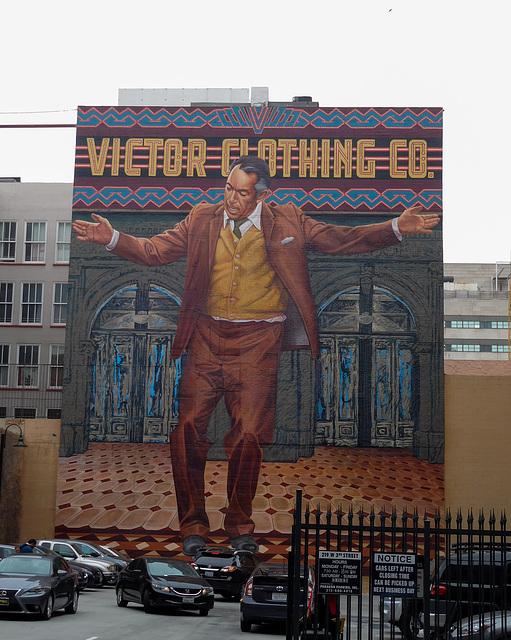 """LA """"Pope of Broadway"""" mural (#0637)"""