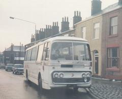 Ribble 776 (TRN 776C) in Rochdale - Dec 1973