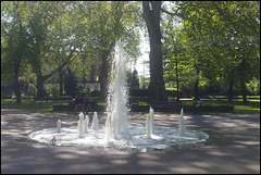 Russell Square fountain
