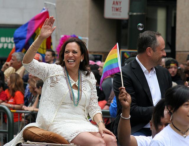 San Francisco Pride Parade 2015 - Kamala Harris (5862)