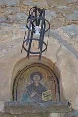 The Island of Tilos, In the Monastery of Aghios Panteleimonas