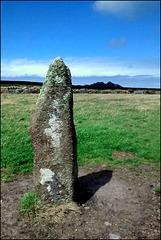 Mên Scryfa, Cornish menhir.