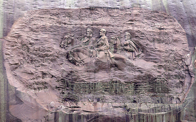 Stone Mountain Carving