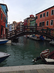 Façades colorées de Murano