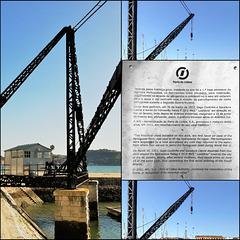Historical crane