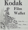Photographing from a bathing machine - Kodak film wallet 1915