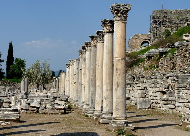 Ephesus- The Agora