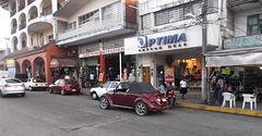 Action optimale de rue commerciale......(Mexique)