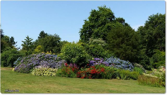 Le jardin des Renaudies en Mayenne