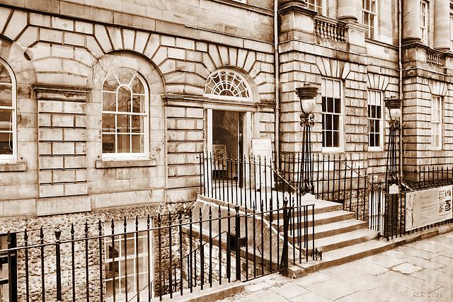HFF auf Schottisch (Edinburgh, The Georgian House)