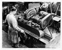 Pontiac Cam Grinding 1934