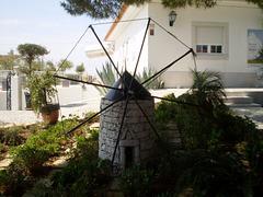 Replica of windmill.