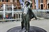 Sir John Betjeman – St Pancras Railway Station, Euston Road, London, England