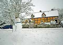 Bunn's Croft and Snowman