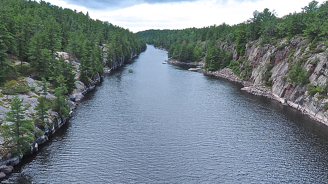 French River in Ontario.