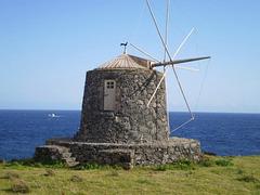 Black windmill.