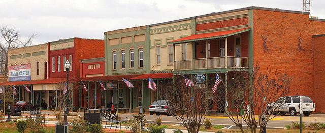 Downtown Plains Georgia