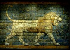 Glazed Brick Panel