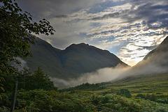 Glen Etive - by dawns early light...