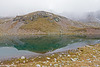"""Spiegelung im Sichelsee - Reflection in the Lake Sichelsee (""""Sickle Lake"""""""