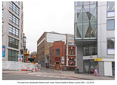 Great Guildford Street, from Southwark Street - London - 2 2 2018