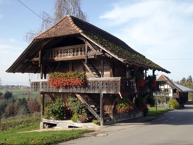 Speycher aus Holz