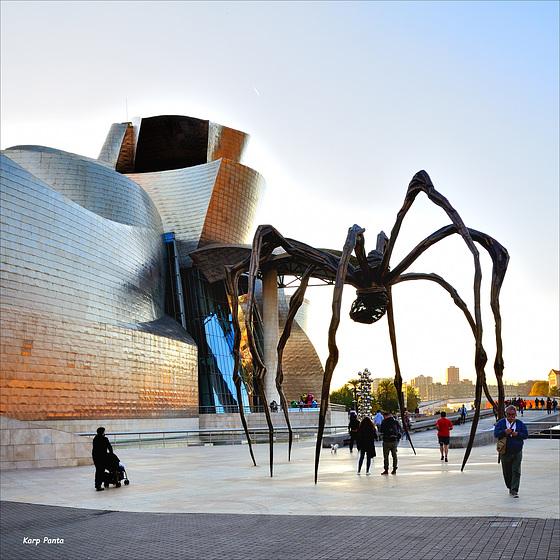"""La araña del Guggenheim"" - Bilbo - Bizkaia"