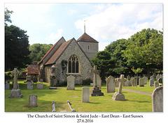 St Simon & St Jude East Dean 27 6 2016