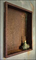 valve in a frame