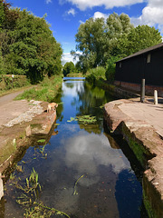 Disused canal, Newport