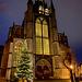 Christmas tree and the Hooglandse Kerk