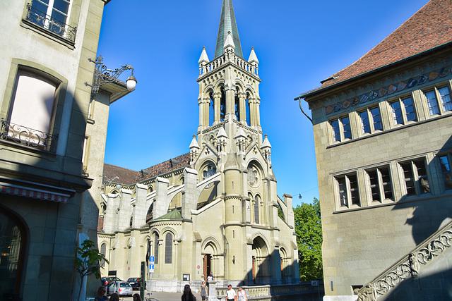 Die Kirche Sankt Peter und Paul ,Bern Schweiz