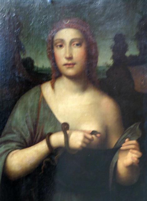 Musée de Jublains : Cléopâtre.
