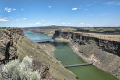 Lake Billy Chinook at The Cove Palisades State Park (+1 inset!)