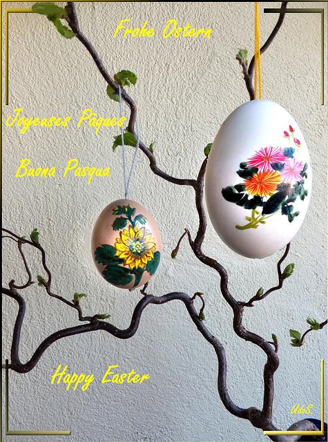 Frohe Ostern 2020 für alle Ipernianerinnen und Ipernianer. ©UdoSm
