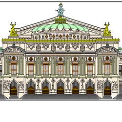 L' Opéra Garnier (Paris)