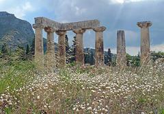 Greece - Ancient Corinth, Temple of Apollo